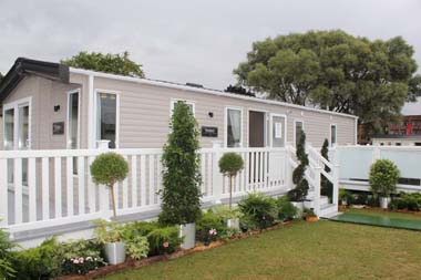 The ABI Roxbury holiday home is clad in scratch resistant aluminium