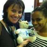 Ayesha Antoine and Lisa Bowerman
