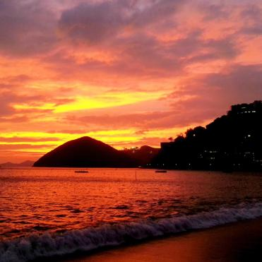 Sunset over Repulse Bay Photographer: Caroline Leung
