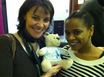 Lisa Bowerman and Ayesha Antoine