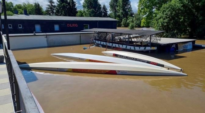 Hochwasser amLDKC