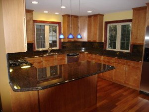 Kitchen Countertops with OGee Edge