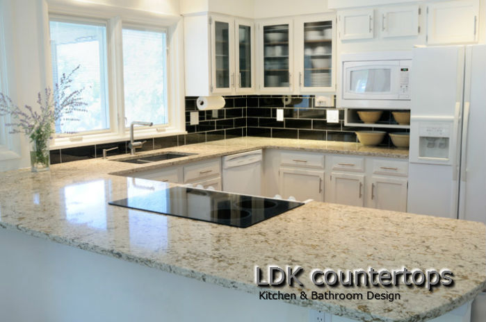 White Granite Countertops Chicago