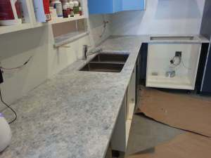 White Quartzite-Kitchen countertops Naperville IL