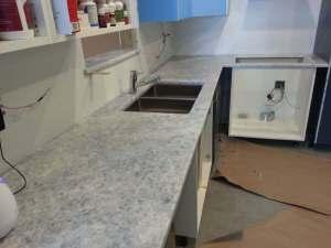 White Quartzite-Kitchen countertops Naperville IL