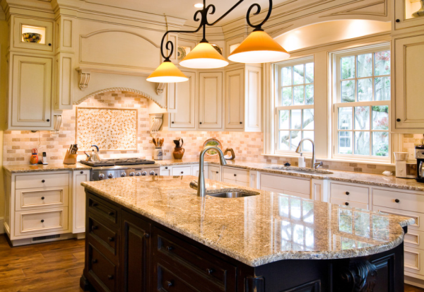 Chicago suburbs kitchen granite countertops