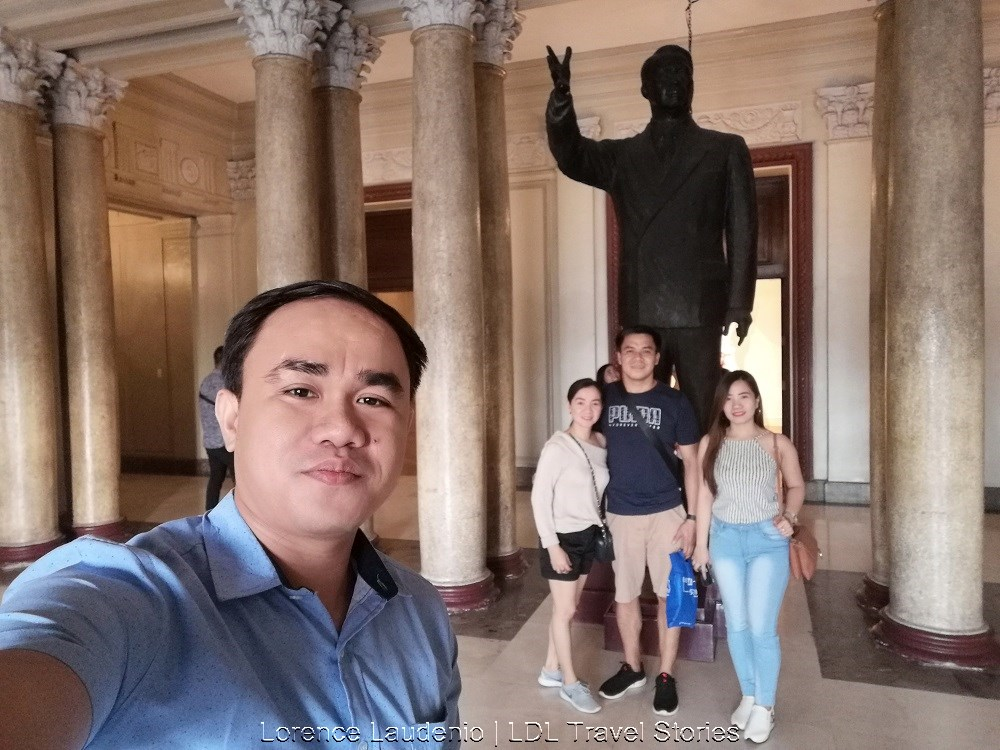 Manuel Acuña Roxas is a statue by National Artist Guillermo Tolentino, a sculptor from the Philippines!