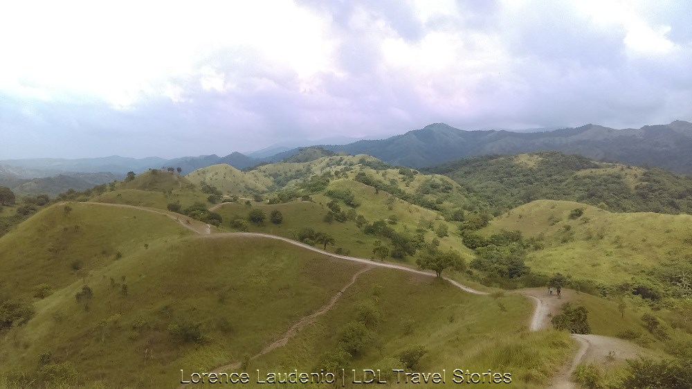 The Chocolate Hills-like mountains of Bulacan in Doña Remedios Trinidad.