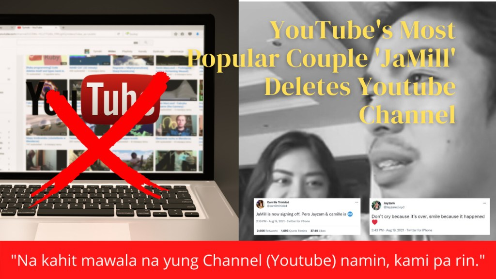 vlogger jamill deletes youtube channel