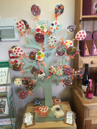 Our favourite: the chocolate tree