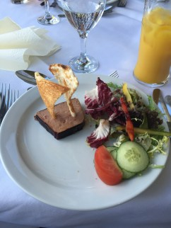 Chicken Liver Pate with Tomato and Apple Chutney