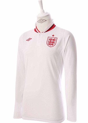 Umbro Reveals New White And Red England Home Kit