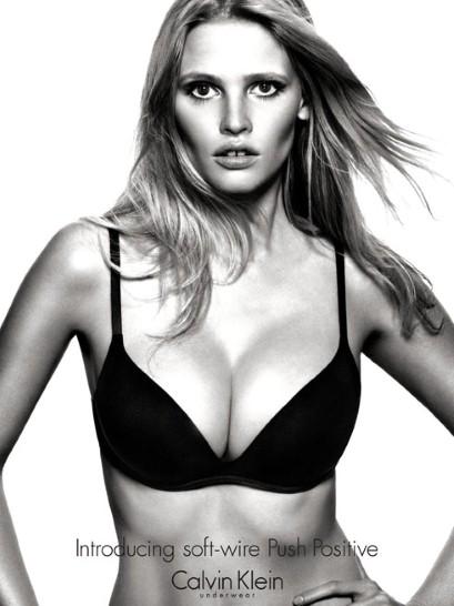 885432fe25 Lara Stone x Calvin Klein underwear campaign