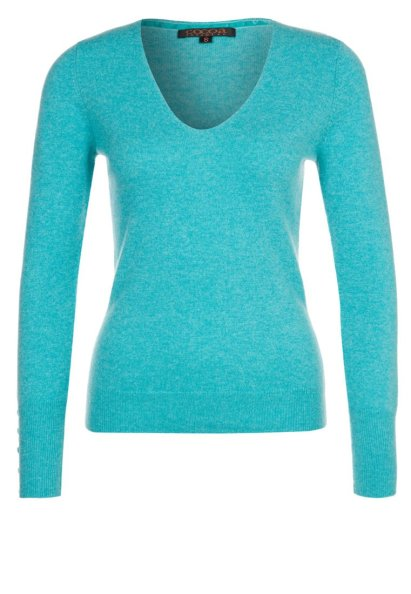 Cocoa Cashmere Jumper - Turquoise