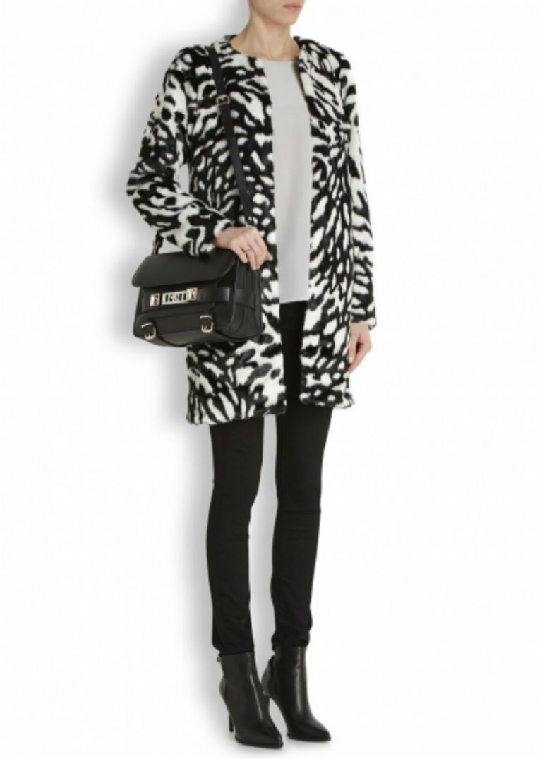 2 - Michael Michael Kors Monochrome Fur Coat £290
