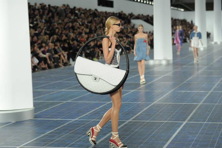 2. Chanel Hula Hoop Bag