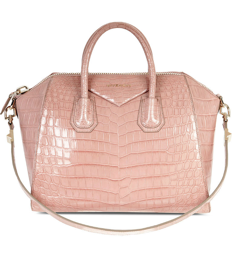 Antigona Medium Crocodile Leather Tote