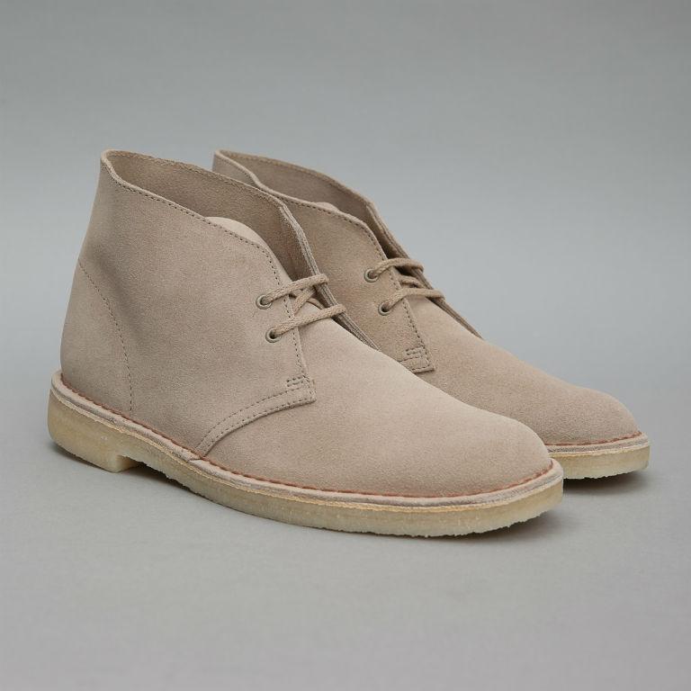 Clarks Sand Desert Boots
