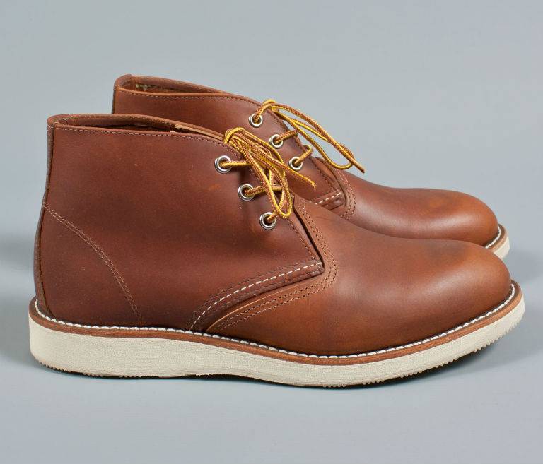 Red Wing 3140 Work Chukka Boots