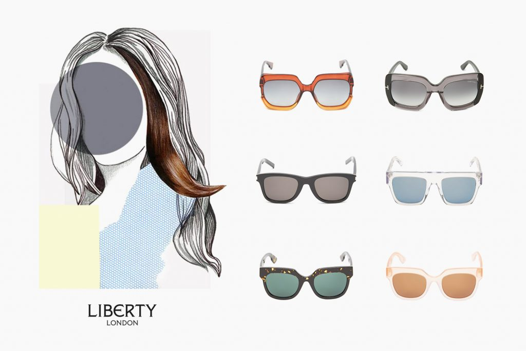 81f602b5a60 THE GUIDE  Sunglasses to Suit Your Face Shape