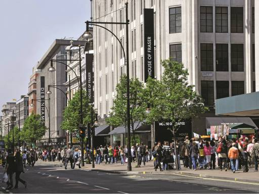House of Fraser's Oxford Street store saved from closure