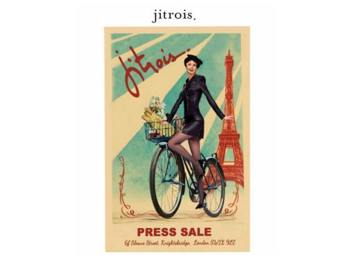 Jitrois Sample Sale – 30th April – 4th May 2019