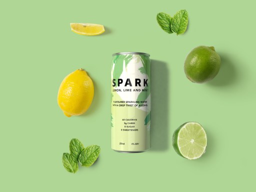 UK's first alcoholic sparkling water brand launches