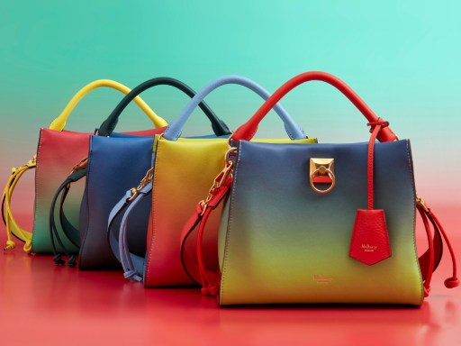 "Mulberry launches limited edition ""Iris for Iris"" collection"