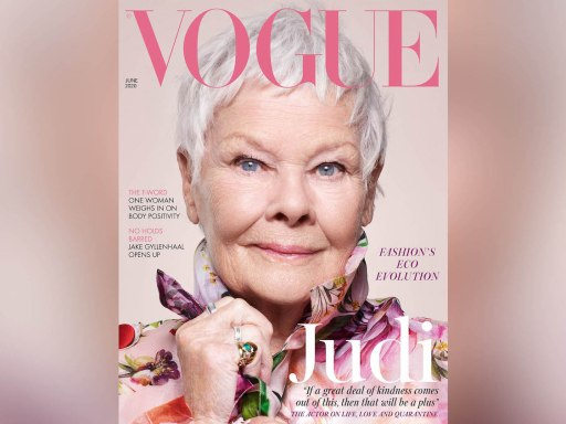 Dame Judi Dench becomes Vogue cover star at 85