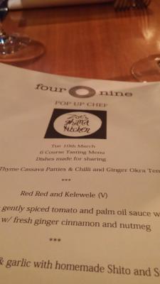 Zoe's Ghana Kitchen - Four O Nine Review 13
