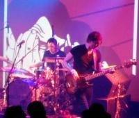 Some Velvet Morning play the Scala: base Gavin Lambert, drummer Rob Flanagan