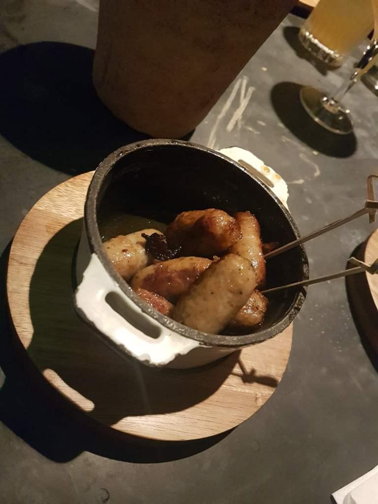 No 17 Dickens Yard food