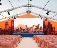 Backyard Cinema's L.A Nights is now open