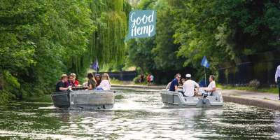 Sail among London's famous canals enjoying a free 'botanical' boat experience 44