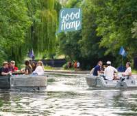 Sail among London's famous canals enjoying a free 'botanical' boat experience 96