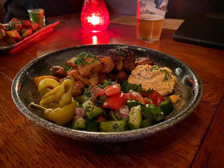 'Chicken' Kofte Plate