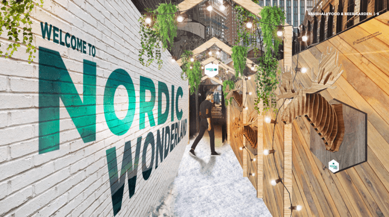 Experience a Nordic Winter here in London