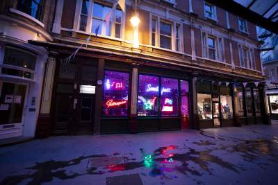 Electric City - Leadenhall Market announces Gods Own Junkyard takeover and neon film exhibition 16