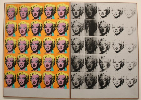 Warhol at the Tate Modern Gallery