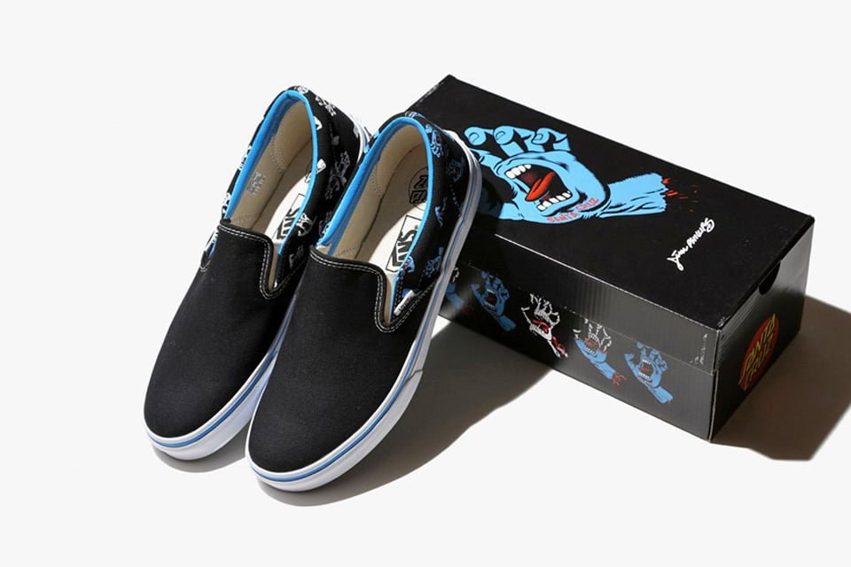 # Vans x Santa Cruz:Screaming Hand 30週年聯名限量款! 1