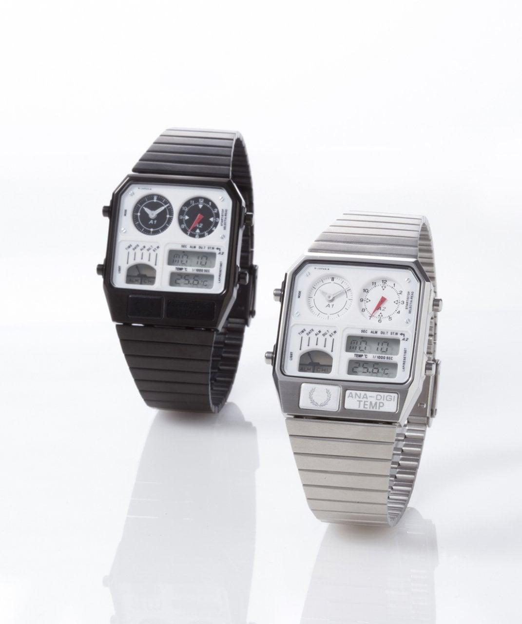 # ANA-DIGI TEMP for FRED PERRY 復刻經典星辰錶:復古與時尚的絕佳聯名 1