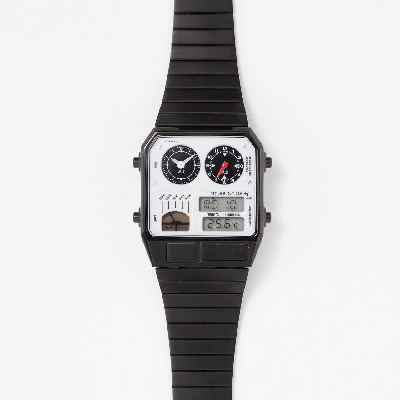 # ANA-DIGI TEMP for FRED PERRY 復刻經典星辰錶:復古與時尚的絕佳聯名 3