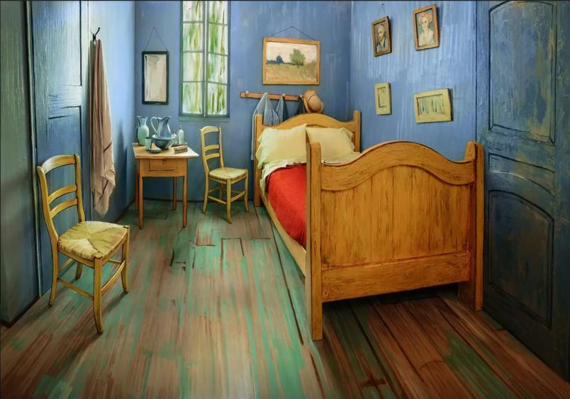 # 比旅行更吸引人的肯定就是這房間了:梵谷畫作 Bedroom in Arles 不只可以看直接讓你入住 1