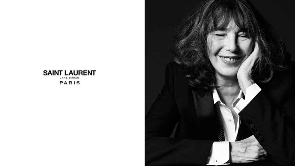 # Jane Birkin 演繹 Saint Laurent 新面貌:Le Smoking 時光好像又回到70年代 1
