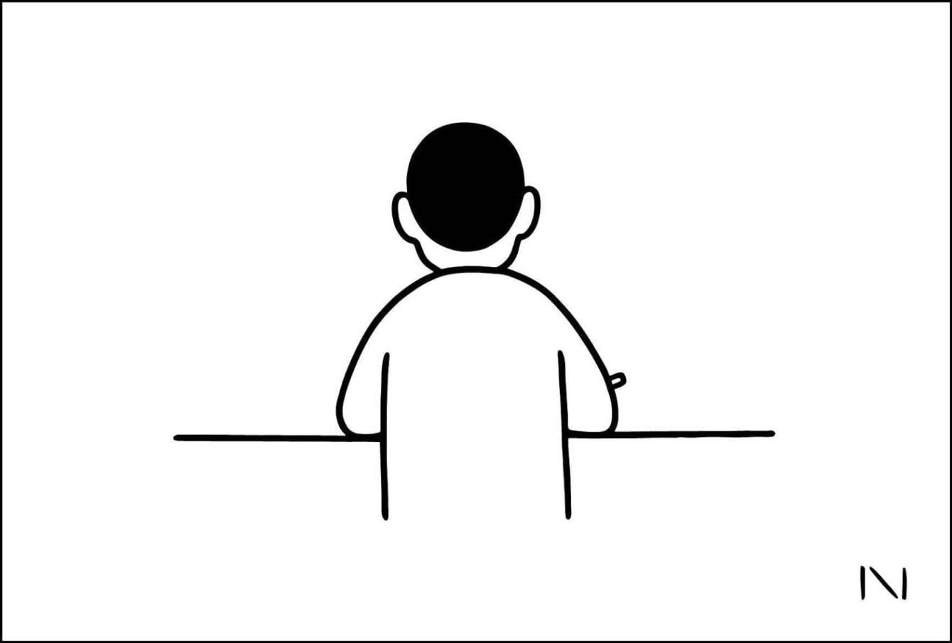 # Noritake X washida:簡單可愛的黑白插畫在台南! 1