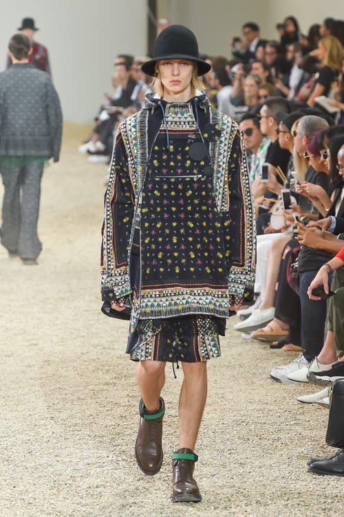 # Sacai 2017男裝春夏新款 :以不同面料打造出前衛自我感 16