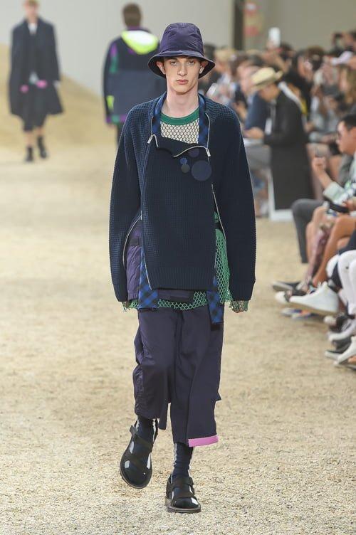 # Sacai 2017男裝春夏新款 :以不同面料打造出前衛自我感 40