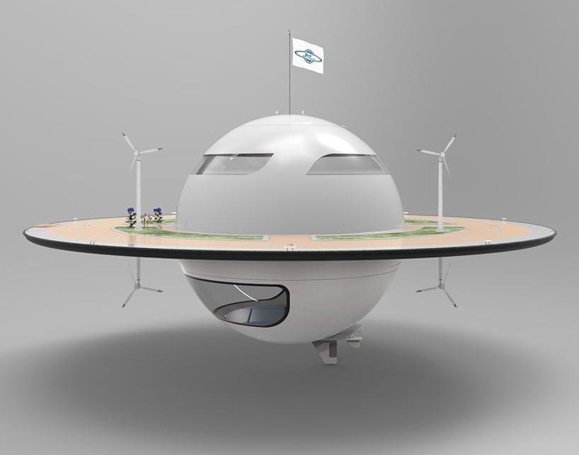 # 幽浮海上漂!:Jet Capsule的浮動海上空間 2