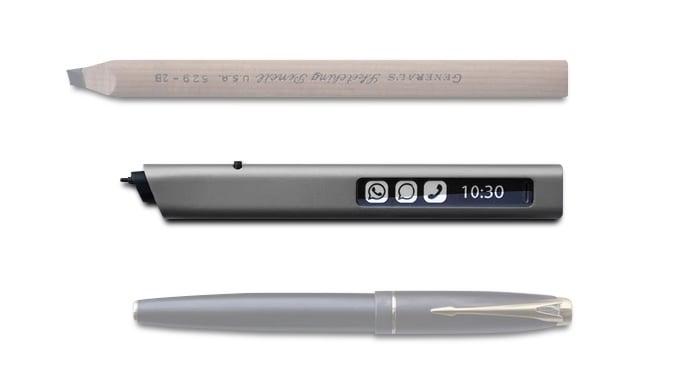# 隨時隨地都可以寫字:不用墨水的電子筆 Phree 7