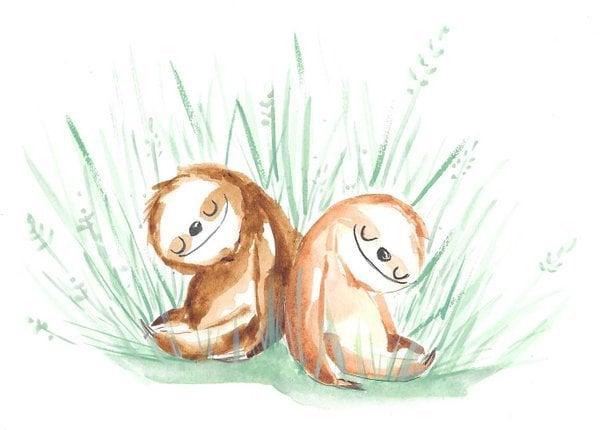 # 暑假近尾聲:跟著樹懶一起懶懶的生活吧! 3